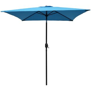 Highland Dunes Bookout Patio Square Market Umbrella