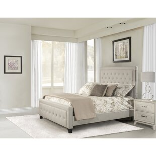 Dupuis Upholstered Panel Bed