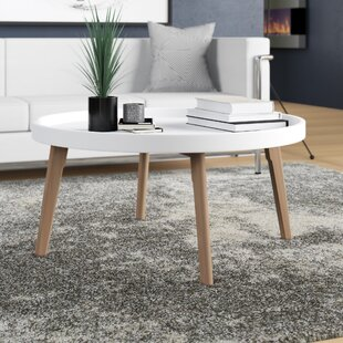 Reviews Simeone Raised Edge Coffee Table By Wrought Studio