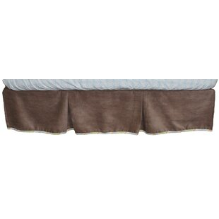 Mix and Match Cocoa Velour Crib Dust Ruffle ByNurture Imagination