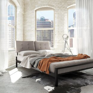 Buy luxury Maxton Upholstered Platform Bed by Latitude Run Reviews (2019) & Buyer's Guide
