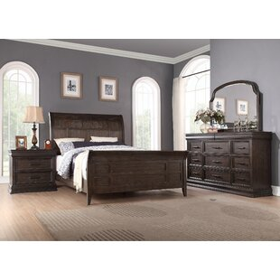 Fortunat Sleigh Bed by Laurel ..