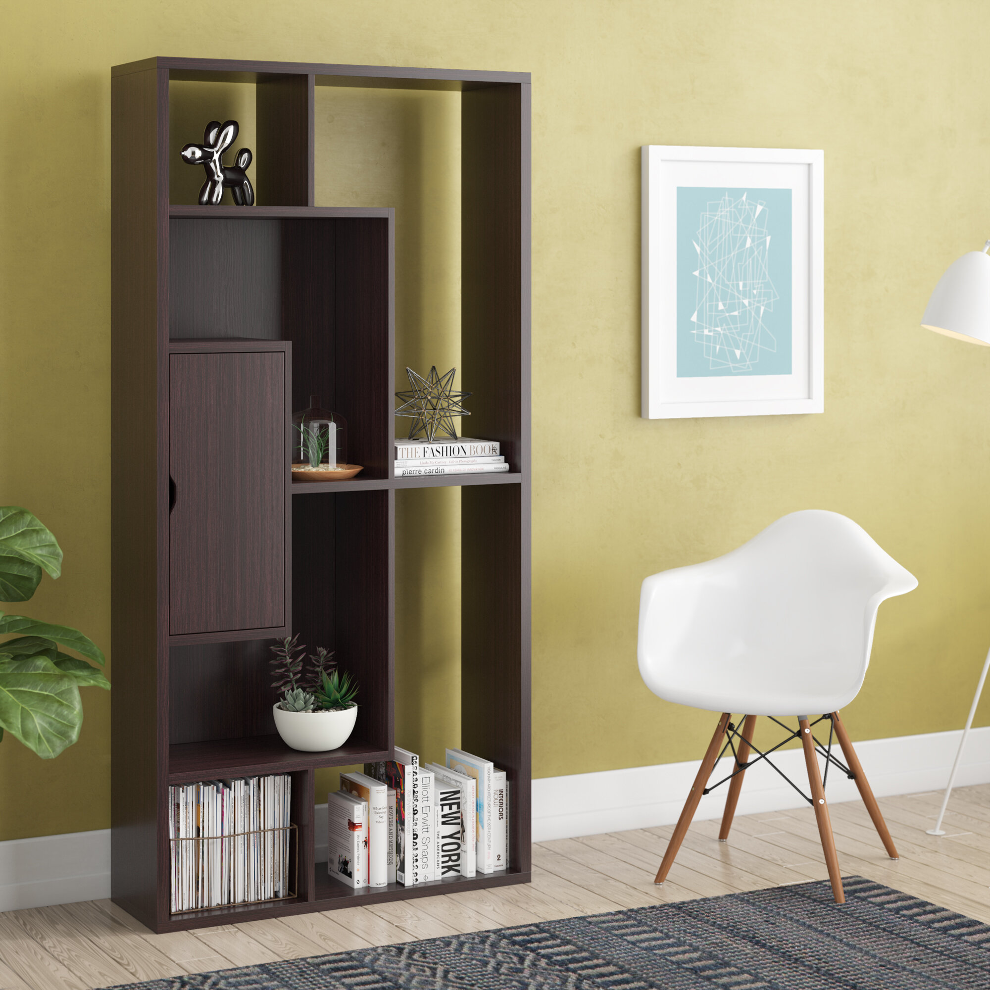 White TV unit HUTTO Wall unit Living room furniture ALL IN STOCK quick delivery