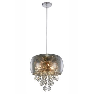 Everly Quinn Raguel 6-Light Drum Chandelier