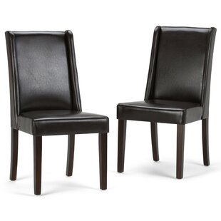 Boudreau Deluxe Upholstered Dining Chair (Set of 2)