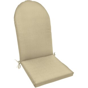 Outdoor Sunbrella Adirondack Chair Cushion with Ties
