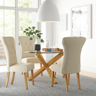 Juniper Dining Set With 4 Chairs By Zipcode Design