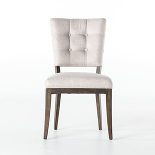 Gracie Oaks Puente Tufted Patio Dining Chair (Set of 2)