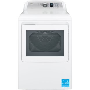 7.4 cu. ft. High Efficiency Electric Dryer with Aluminized Alloy Drum and HE Sensory Dry by GE Appliances