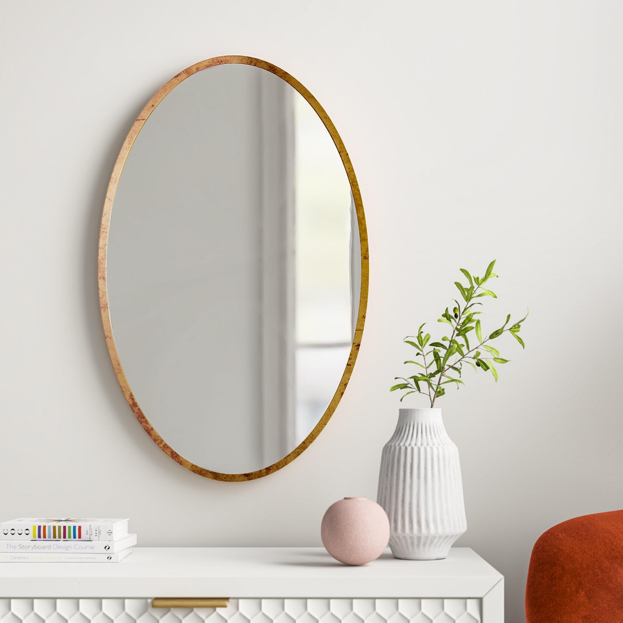 Joss Main Kennedy Modern Contemporary Beveled Accent Mirror Reviews Wayfair