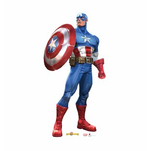 Marvel Contest of Champions Captain America Life Size Cardboard Cutout By Advanced Graphics
