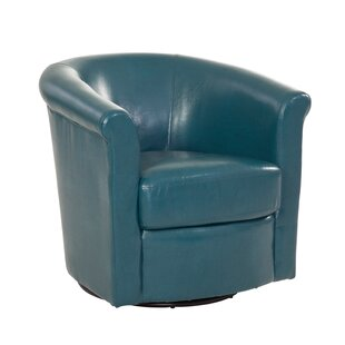 Winston Porter Pinehill Swivel Barrel Chair