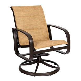 Cayman Isle Swivel Patio Dining Chair
