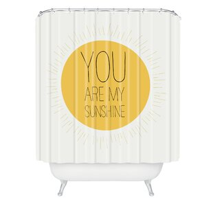Allyson Johnson You Are My Sunshine Single Shower Curtain