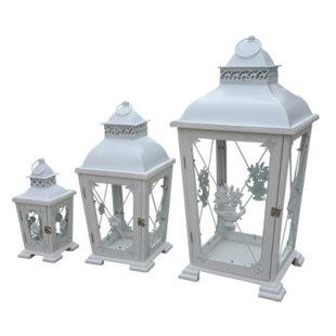Rouleau Tabletop Lantern Set By Fleur De Lis Living