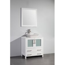 Bathroom Vanity 30 X 16 modern single bathroom vanities | allmodern