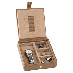 Inexpensive Personalized Baron Cufflinks Box ByRoyce Leather