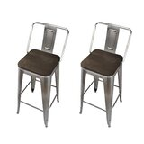 Capucine 30 Bar Stool (Set of 2) by Williston Forge