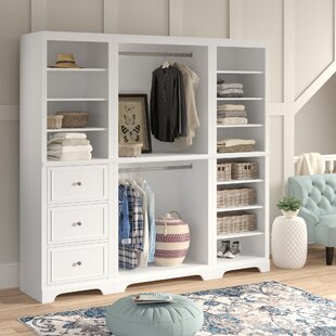 Barnard 86W Freestanding Closet System by Birch Lane™ Heritage