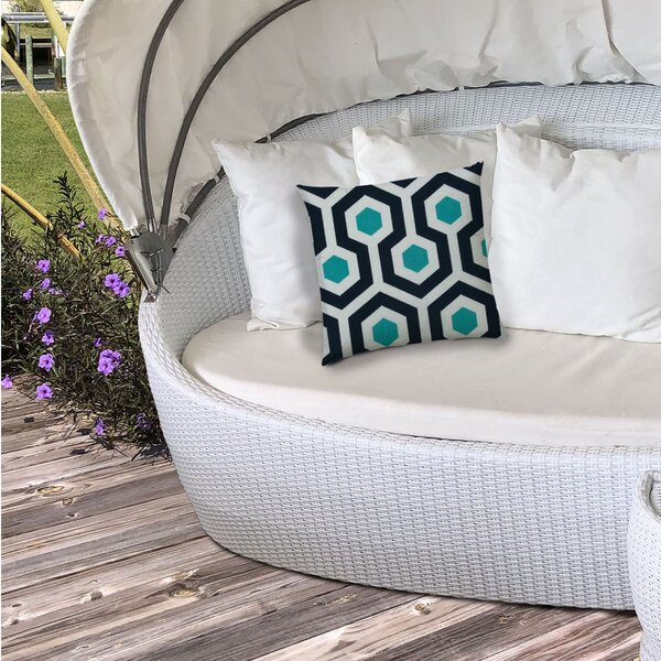 Highland Dunes Wired Outdoor Square Pillow Cover Wayfair