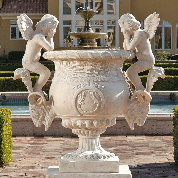 Versailles Cherub Urn Statue