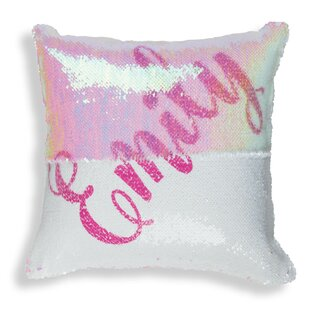 My Name Personalized Sequin Throw Pillow