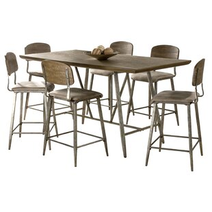 Georgia 7 Piece Counter Height Dining Set 17 Stories