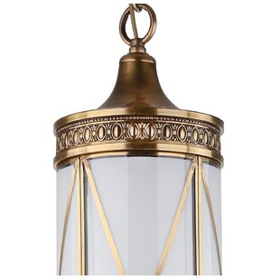 Astoria Grand Rehobeth 1-Light Cylinder Pendant