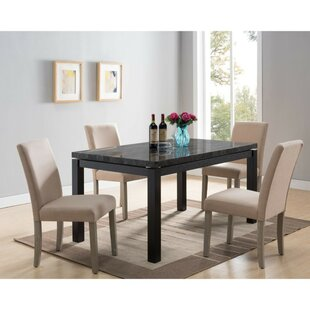 Napfle Solid Wood Dining Table by Winston Porter