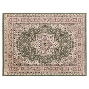 Craster Arms Green/Beige Rug by Astoria Grand