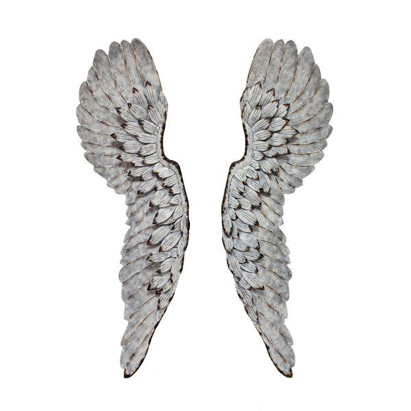 Metal Angel Wings Wall Decor | Wayfair