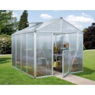 Zeus 2.6m W X 6.1m D Greenhouse By WFX Utility