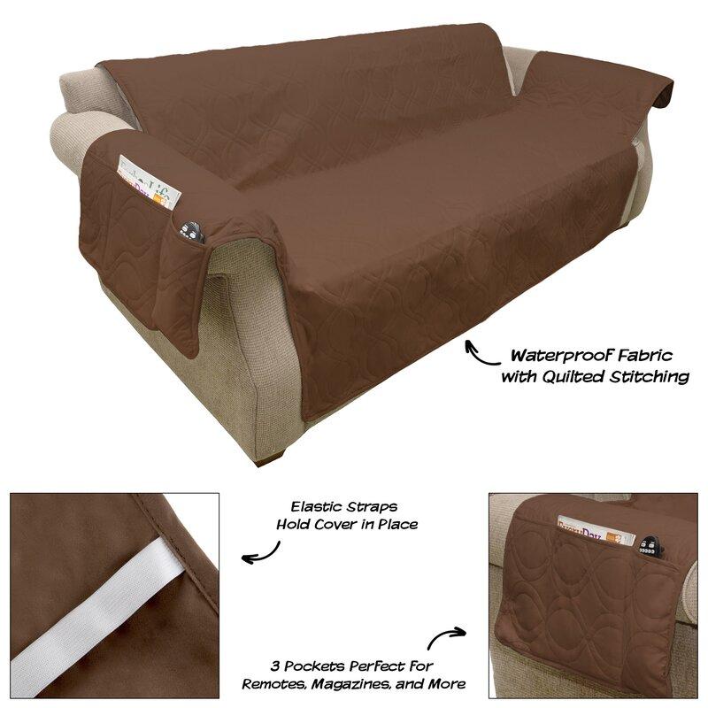 Waterproof Box Cushion Sofa Slipcover