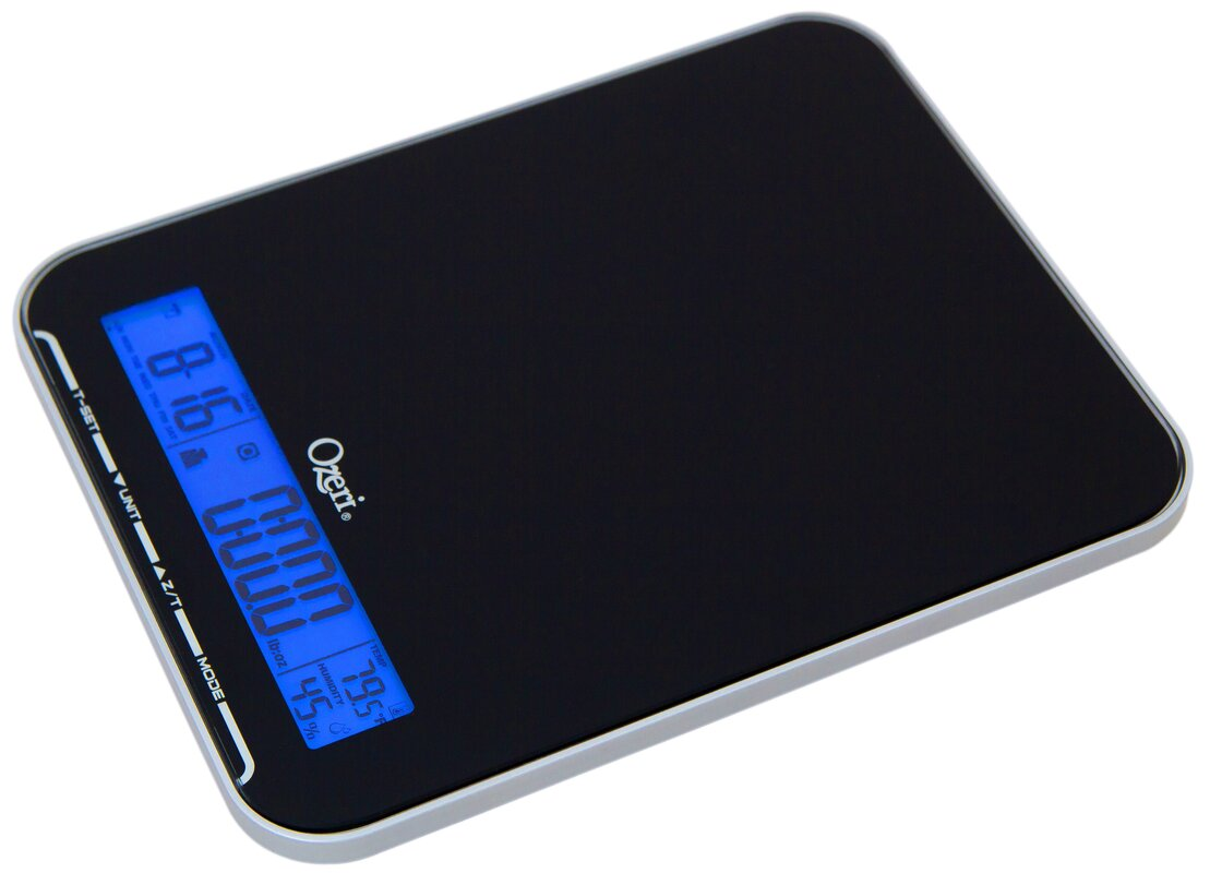 Digital Kitchen Scale Ozeri Touch Iii Multifunction 22 Lbs 10 Kg Digital Kitchen Scale