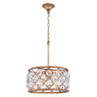 Willa arlo interiors reidar 4 light geometric pendant reviews morion 4 light drum pendant mozeypictures Choice Image