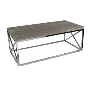 Mclachlan Elegantly Charmed Metallic Coffee Table