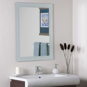 Bathroom Mirror Edge Trim vanity mirrors | wayfair