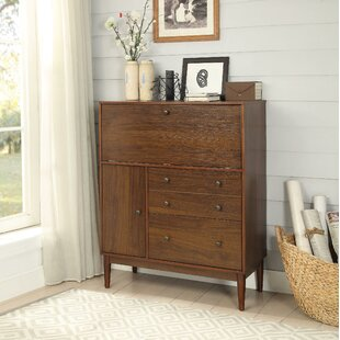 Heil 2 Drawer Wooden Storage Cabinet