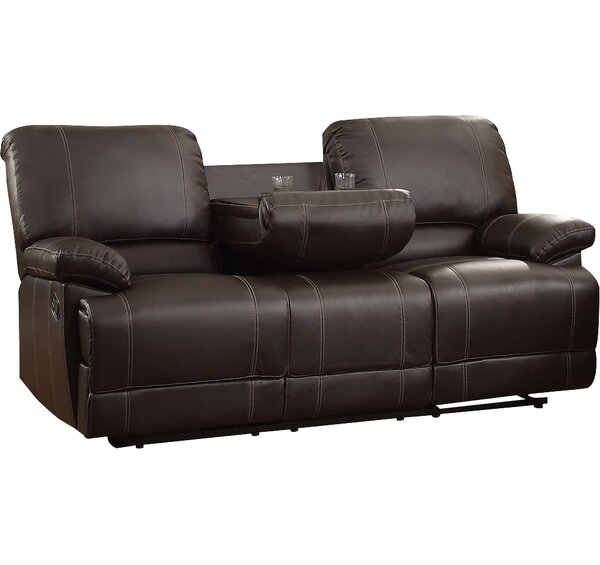 Beau Andover Mills Edgar Double Reclining Sofa U0026 Reviews | Wayfair