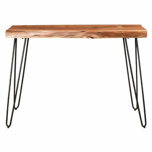 Reviews Spurlin Acasia Wood Console Table By Millwood Pines