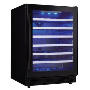 48 Bottle Single Zone Built-In Wine Cooler by Danby