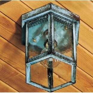 Brass Traditions 1100 Series 1-Light Outdoor Flush Mount