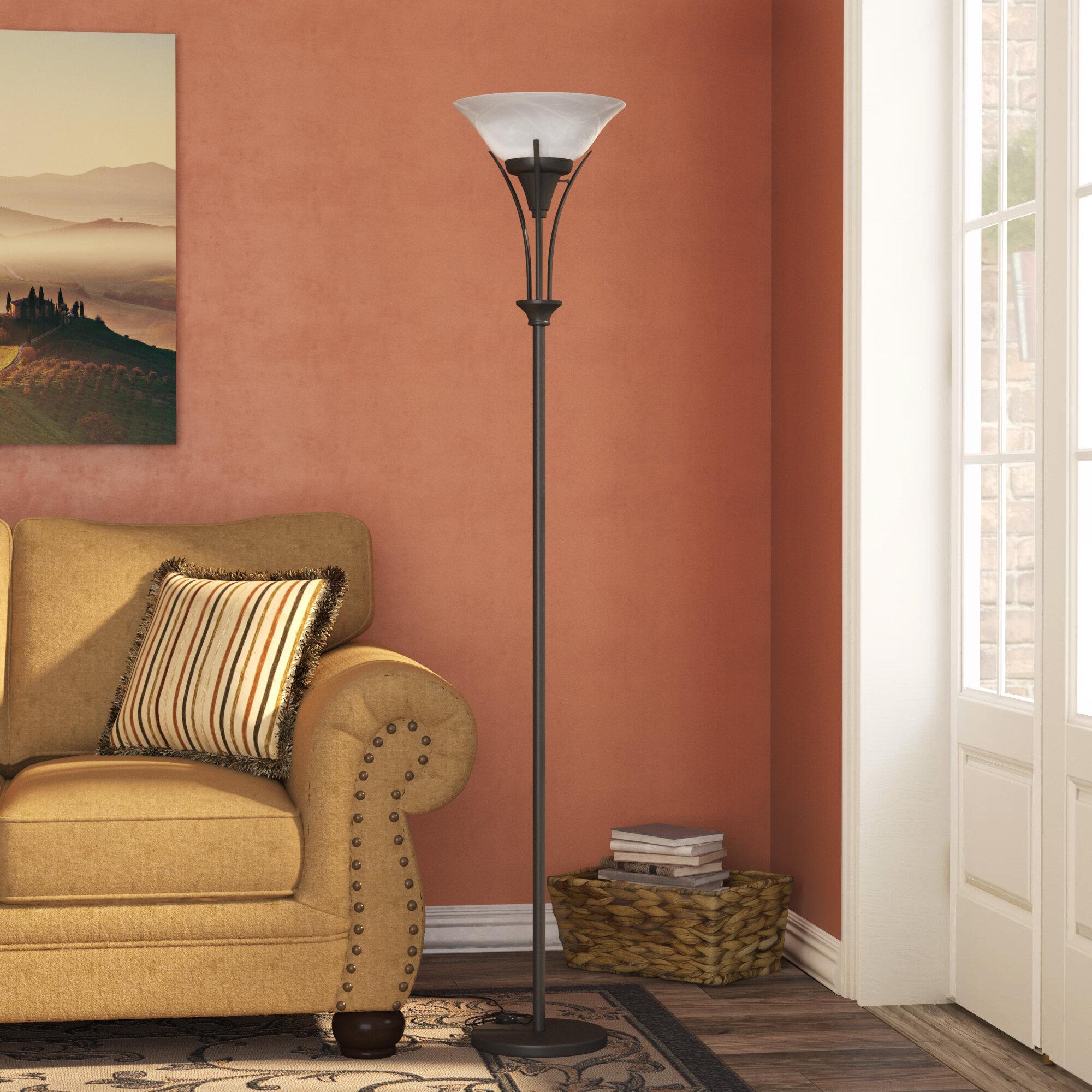 Enjoyable Berau 71 Torchiere Floor Lamp Theyellowbook Wood Chair Design Ideas Theyellowbookinfo