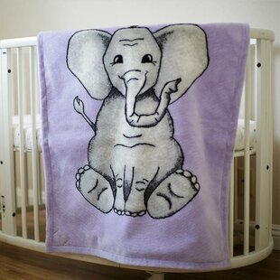 Read Reviews Byrnedale Elephant Baby Blanket By Harriet Bee