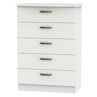 Hayse 5 Drawer Chest By Mercury Row