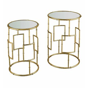Bookman 2 Piece End Table Set by Wrought Studio