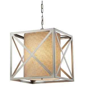 Brayden Studio Kenyon 4-Light Square/Rectangle Chandelier