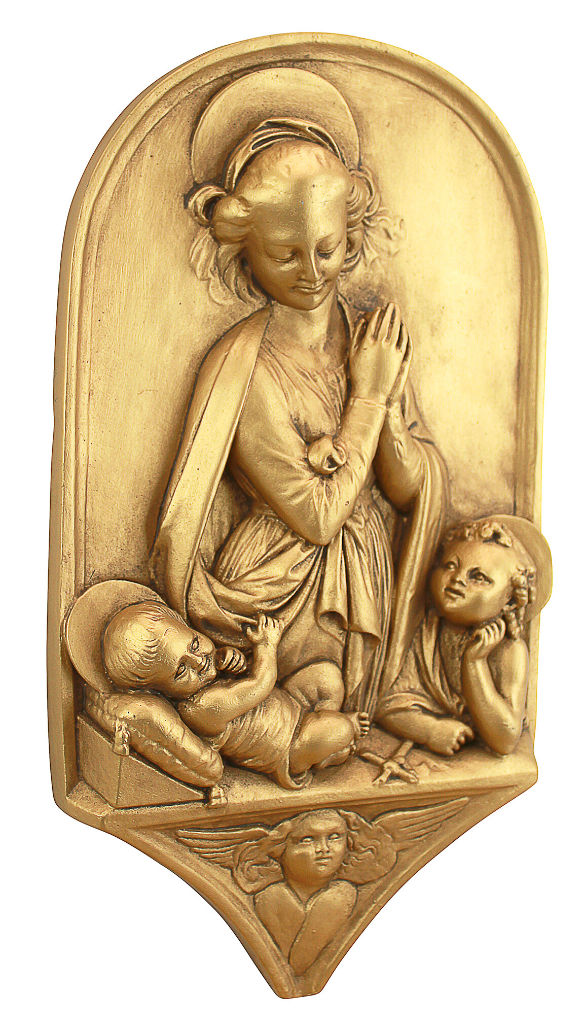 Design Toscano Madonna and Child with the Infant St. John the ...