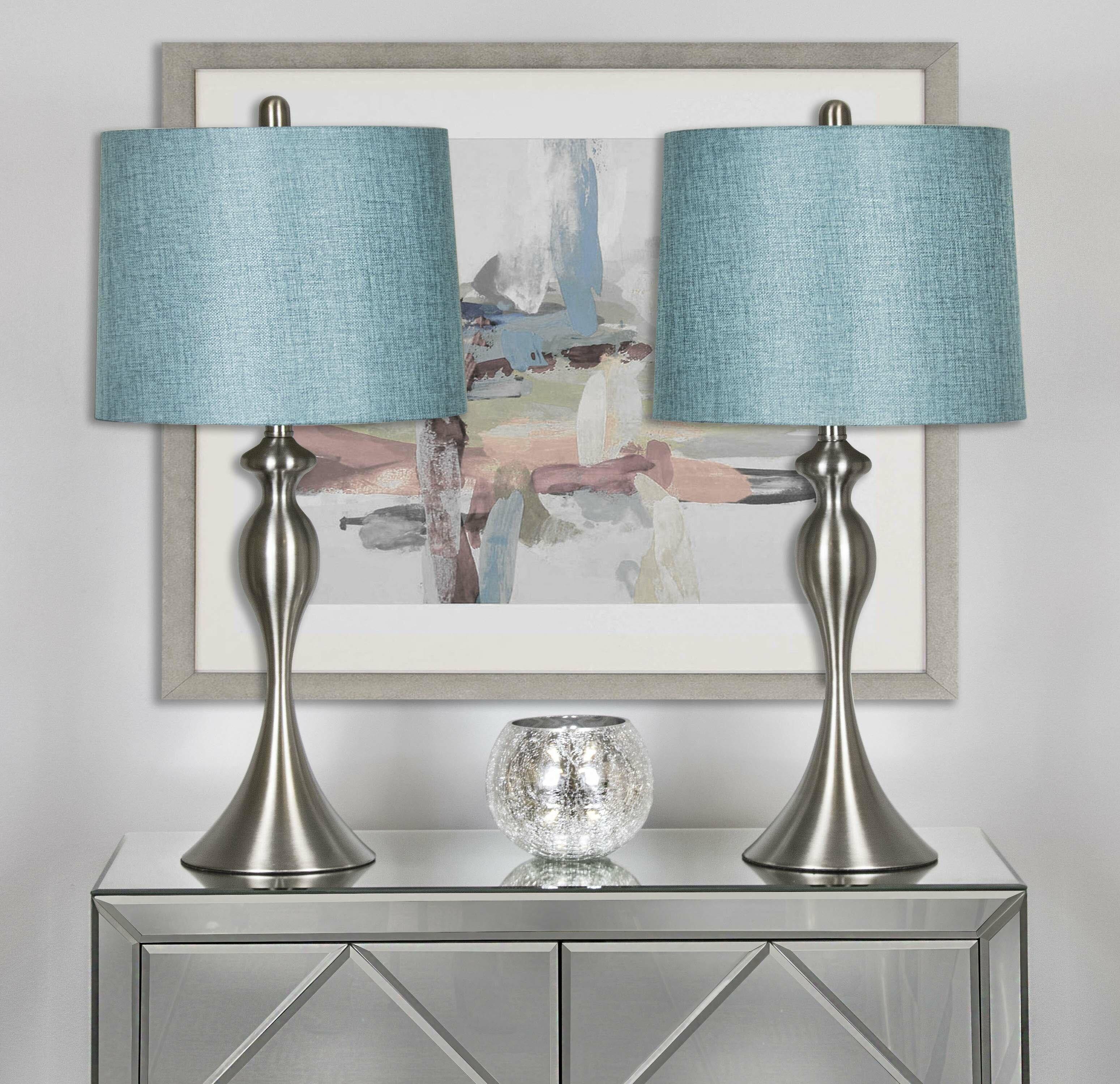 Rosdorf Park Pennsylvania 27 Table Lamp Set Reviews Wayfair