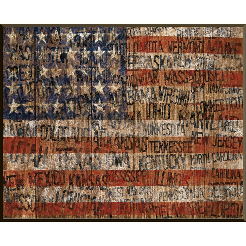 PTM Images Old Glory Giclée Wall Art & Reviews | Wayfair